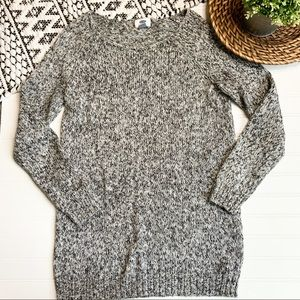 OLD NAVY Heathered scoop neck long Sweater
